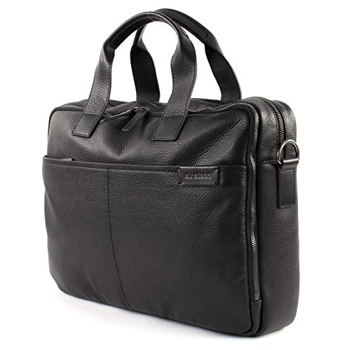 Strellson Garret Briefbag MHZ Aktentasche, Schwarz
