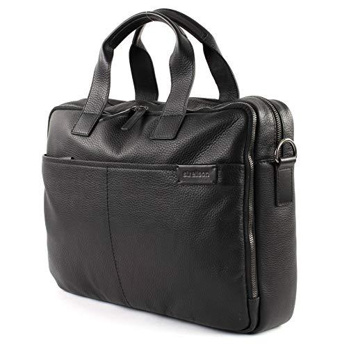 Strellson Garret Briefbag MHZ Aktentasche, Schwarz