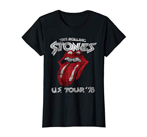 Rolling Stones Women's US Tour 78 T-Shirt