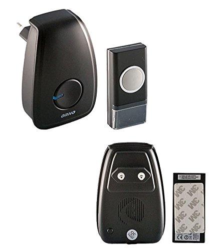 Draadloze bel deurbel pager/Sender 48 beltonen 100m 230V AC