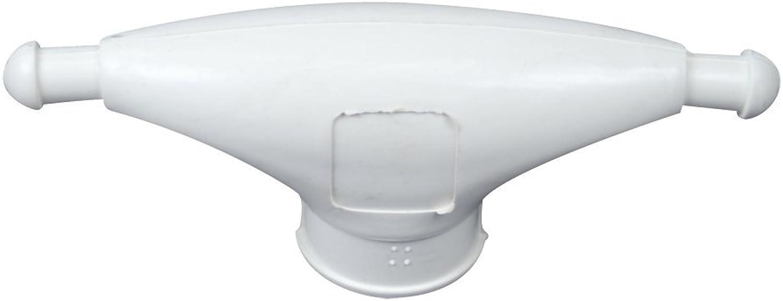Whitecap Rubber Spreader Boot  Pair  Large  White