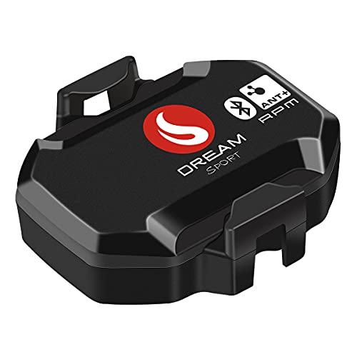 SKARLIE Sensore di Cadenza per Spin Bike Bluetooth ANT+RPM Sensore Cadenza Compatibile GPS Bike Tachimetro e Ciclismo APP
