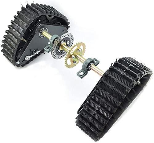 Super sale 60cm Go Kart Buggy Atlanta Mall Quad Rear Snowmobile ATV Snow Sand Wheel