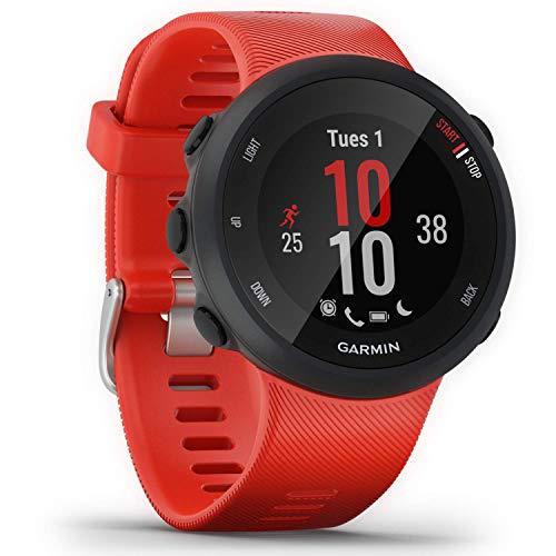 Garmin Forerunner 45 L/G - Reloj Multisport con GPS, Tecnología Pulsómetro Integrado, color Rojo