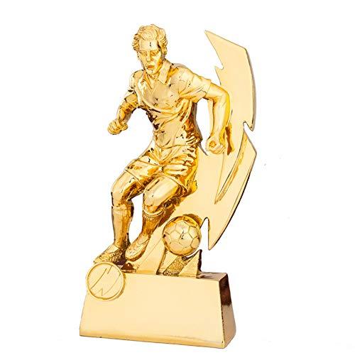 NQO Trofeo de Campeones Trofeo de Competición, Trofeo del Mundo Trofeo de Fútbol Trofeo de Tiro Creativo Modelo de Recompensa Bota de Oro (Tamaño: 12 x 6 x 22,5 cm)