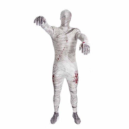 Morphsuits - CS97020/L - Seconde peau morphsuit momie taille l
