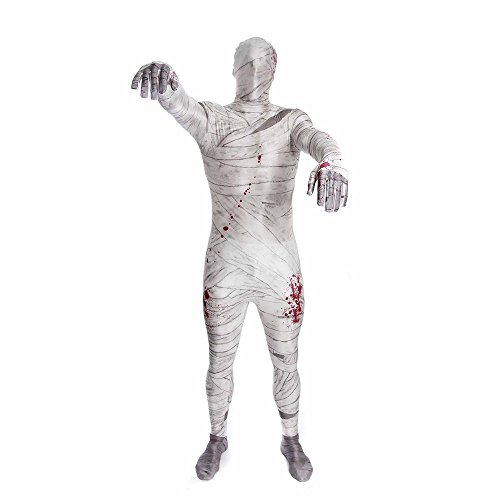 Morphsuits - CS97020/L - Seconde peau morphsuit momie taille l