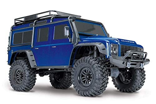 Traxxas TRX-4 Landrover Defender Brushed RC Modellauto Elektro Crawler Allradantrieb (4WD) RTR 2,4 GHz