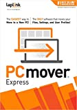 Laplink PCmover Express | Instant Download | Single Use License | Moves Files, and Settings to Your New PC