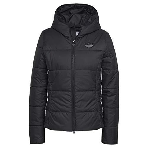 adidas Damen Slim Jacke, Black, D38