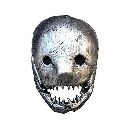 Szseven Mask-2019 2020 Halloween Killer Horror Spiel Weißer Metzger Cosplay Maske Requisiten Party Vollgesichtsmaske Halloween Cosplay Party Maske