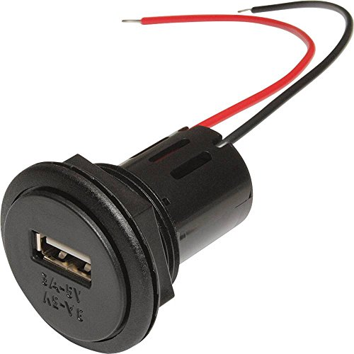 ProCar Power USB Einbausteckdose Belastbarkeit Strom max3A Passend fur Details USB A