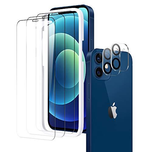 A-VIDET Schutzfolie Kompatibel mit iPhone 12 6,1