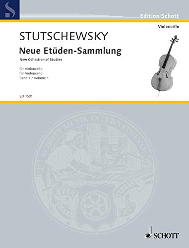 Neue Etüden-Sammlung 1. Violoncello