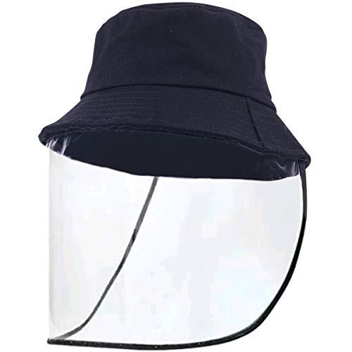 Lanzom Women Lady Wide Brim Cap Visor Hats Sun Protection Summer Sun Hats(A-Black Hat)