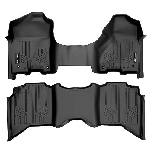 MAX LINER A0231/B0047 for 2012-2018 Ram 1500/2500/3500 Crew (4 Full Size Doors) with 1st Row Bench Seat, Black