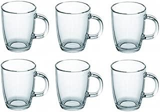 Bodum Bistro Glass Coffee Mug 11239 12-ounces .35L Set of 6