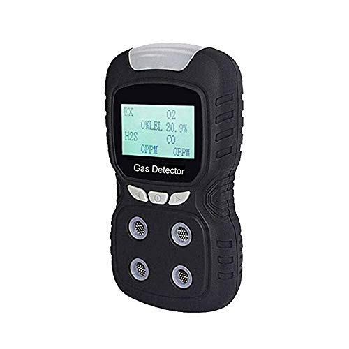 Multigas Gas Detector for Natural Gas Methane and Propane, Waterproof High...