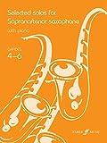 Selected Solos for Soprano/Tenor Saxophone: Grade 4-6 (Faber Edition)