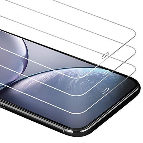 petit un compact Zurogen [3 Pièces] Protecteur d'écran en verre trempé pour iPhone 11 / iPhone XR, dureté 9H, anti…