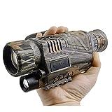 XWX Jumelles Infrarouges Monoculaires De Vision Nocturne Numérique Full Black Caméra...