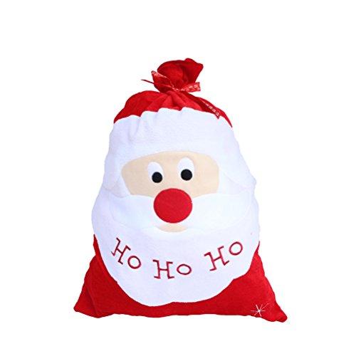 OULII Saco Regalo de Papa Noel Bolsas Grandes de Santa Claus