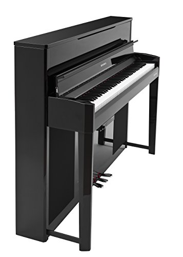 Review Kurzweil CUP2A Compact Upright Digital Home Piano, Black Polish