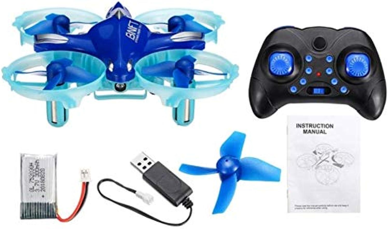 FODUIV RC Drohne Quadcopter Gestenerkennung Mini-Drohne-Hubschrauber mit Led-Blinklicht 2,4G LED 6-Achsen