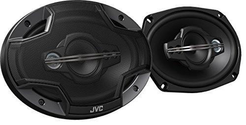 JVC CS-HX6959 15 x 23 cm 5-en-Coaxial-Altavoz (650 Watt) Negro