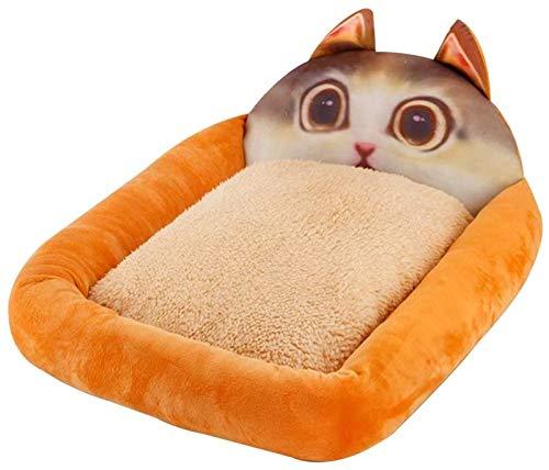 YAOSHUYANG Cama para Mascotas con Tela removible y Lavable Cat y colchón de Perro lavabos pequeños y medianos de Mascotas para Mascotas Suministros para Mascotas