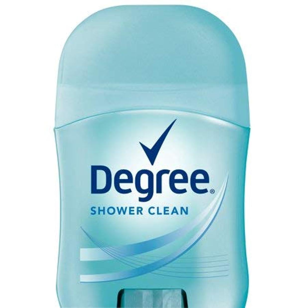 突然肘栄光のDegree Women Shower Clean Dry Protection Antiperspirant Deodorant, 0.5 oz (14g) [並行輸入品]