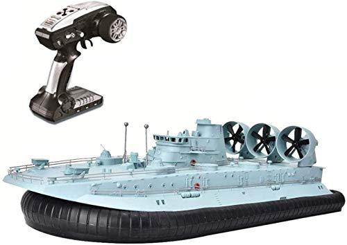 ZHJ 2. 4GHz Fernbedienung Boot Simulation Hovercraft Modell Mini-Radio-Spielzeug Amphibious Wasserdichtes High Speed Schwimmbad See Außen Ferngesteuerte Spielzeuge