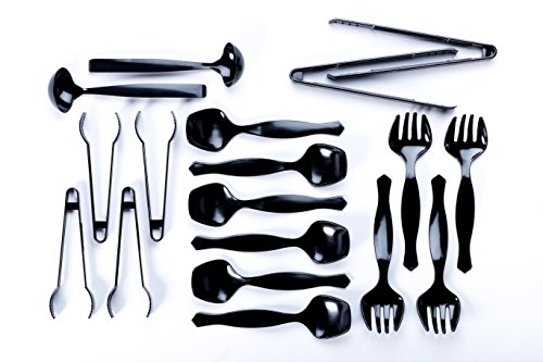 Transitions2earth Biodegradable Serving Utensils Combo Pack - 18 Count - Plant a Tree with Each Item Purchased