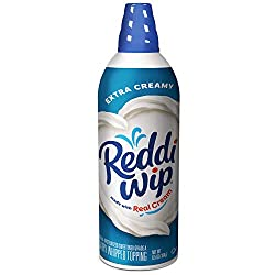 Reddi-wip Extra Creamy Whipped Dairy Cream Topping, Keto Friendly, 6.5 oz.