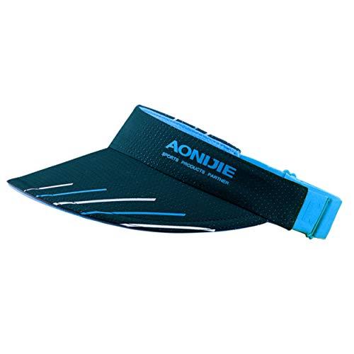 Azarxis - Cappello da sole con visiera regolabile, protezione dai raggi UV, per golf, tennis, ciclismo, corsa, jogging, colore: blu navy