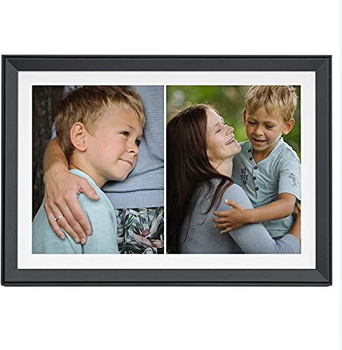 Aura Carver Digitaler Bilderrahmen Limited Edition 10,1 Zoll HD WiFi Cloud Digitaler Rahmen Kostenloser unbegrenzter Speicher Einfache Einrichtung zum Senden von Fotos aus der Ferne