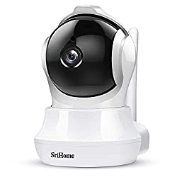 Srihome SH020 Pan/Tilt Wireless WiFi 3MP Ultra HD 1296p IP Security Camera CCTV with Auto Tracking,Srihome,SH020