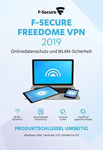 F-Secure Freedome VPN 2019 - 1 Jahr/3 Geräte für Multi Plattform (PC, Mac, Android und iOS)