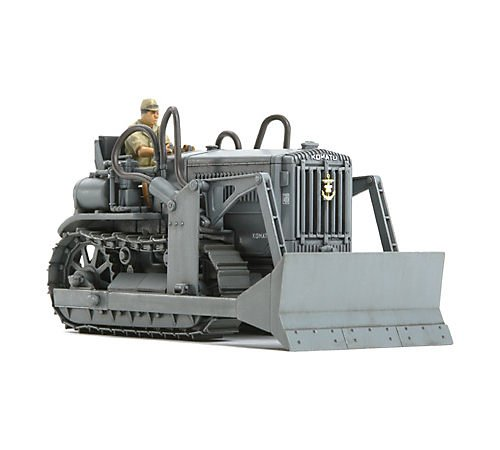 Tamiya - 32565 - Maquette - Bulldozer Komatsu G40 - Echelle 1:48