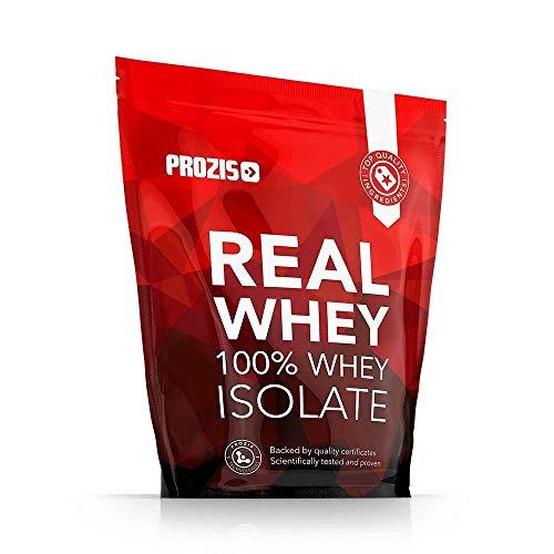 Prozis 100% Real Whey Isolate Proteína para Pérdida de Peso, Recuperación Muscular y Culturismo, Contenido Mínimo de Grasa, Chocolate y avellanas - 1000g