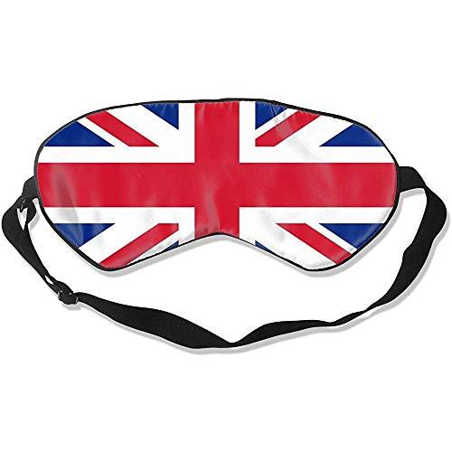 United Kingdom Flag Slaapmasker, duurzaam, verstelbaar