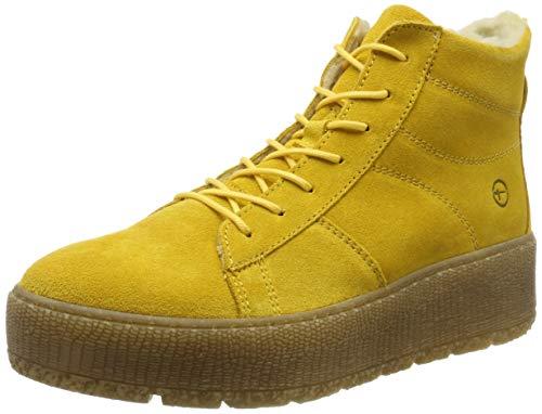Tamaris Damen 1-1-26096-23 Hohe Stiefel, Gelb (Saffron 627), 39 EU