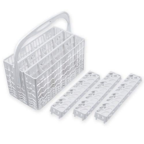 Universal Hitzebeständiger Besteckkorb für ALLE Spülmaschinen - Stabil und Robust - Hochwertige Qualität
