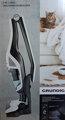 GRUNDIG VCH9829 2in1 Akku- und Handstaubsauger 21,6 V Li-Ion Weiss