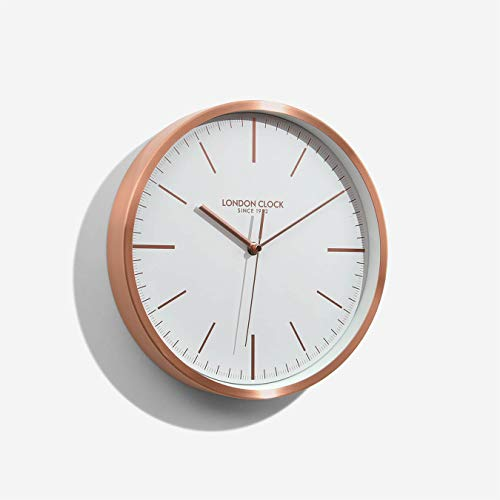 London Clock Reloj de Pared Artemis, Cobre, 30 x 30 x 4.5cm
