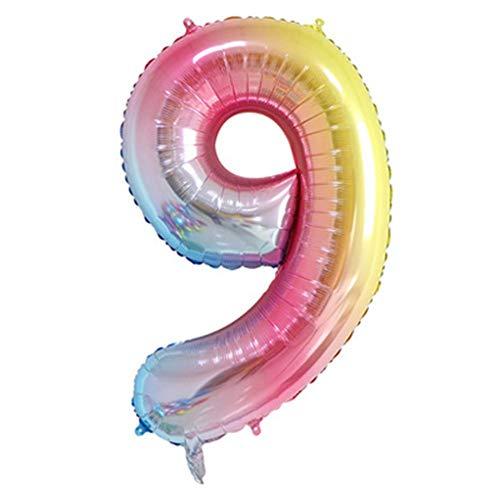 40 pulgadas de cumpleaños, decoración de fiesta, accesorios, número de globos, lámina de helio, globos digitales, fiestas, bodas, bachelorette, decoración de fiesta de aniversario