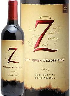 【2本目以降1本につき700円引・最大10本まで】セブン デッドリー ジンズ オールド ヴァイン ジンファンデル 2017 7 Deadly Zins Old Vine Zinfandel 赤ワイン