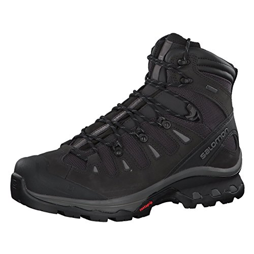 Salomon Men's Quest 4D 3 GTX Backpacking Boots, Phantom/Black/Quiet Shade, 7