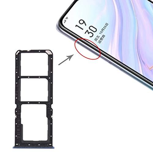 HDZ AYDD - Bandeja para tarjetas SIM + bandeja para tarjetas SIM + bandeja para tarjetas Micro SD para OPPO A11 (color: azul)
