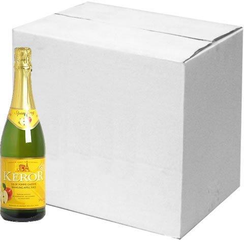 ◆12本セット◆ ケロー・フレンチスパークリングジュース (アップル)